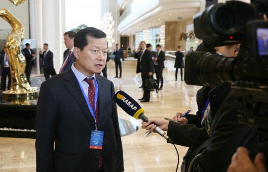심보균 행안부 차관 `디지털 카자흐스탄` 참석